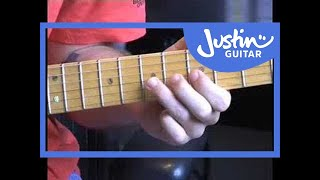 Bending Vibrato (Guitar Lesson TE-009) How to play