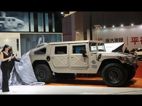 Hummer Comeback As Humvee C Series Made In America And
