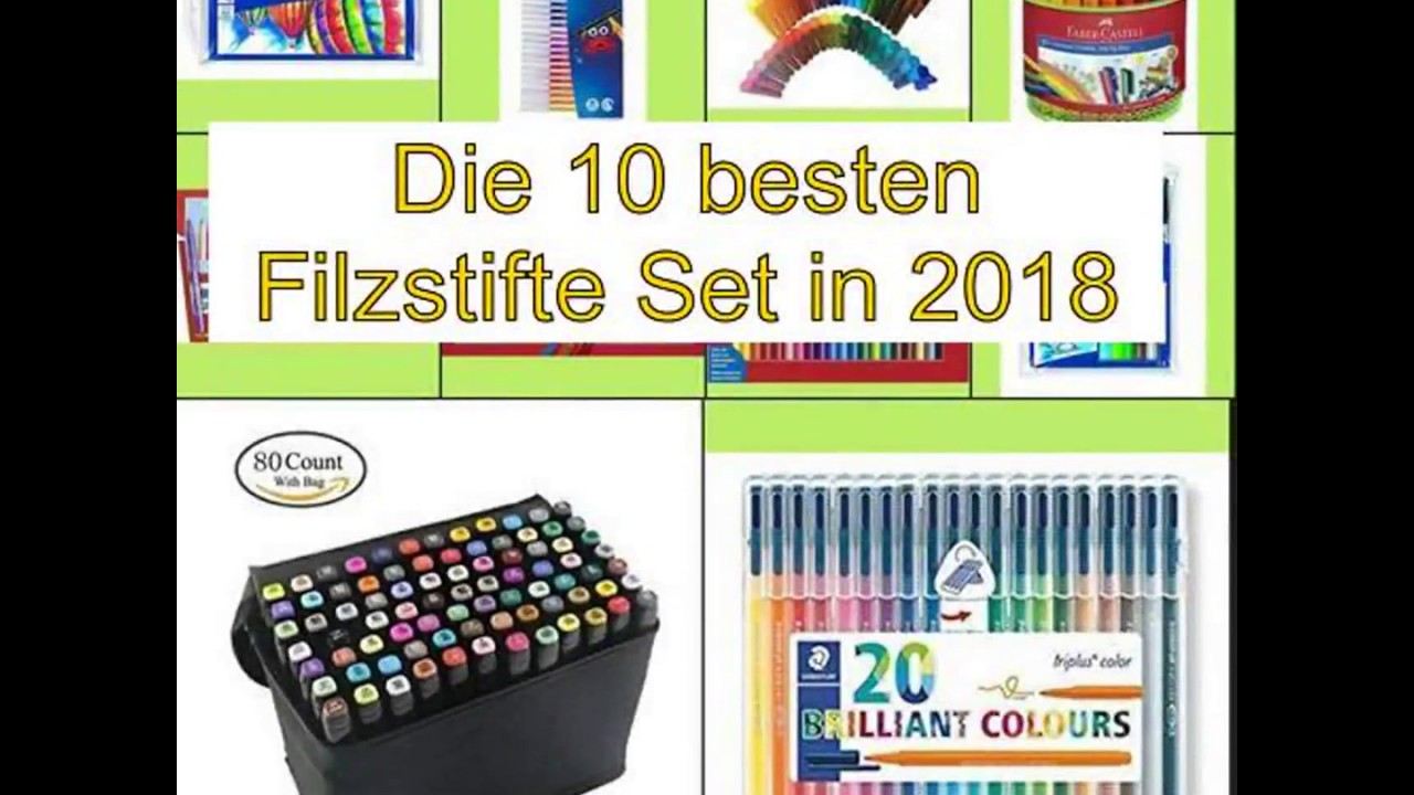 Faber Castell 155320 Fasermaler GRIP Colour Marker  20er Etui