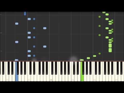 Clarinet Polka - Polish Folk Melody [Piano Tutorial] (Synthesia)