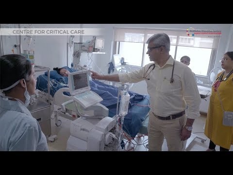 Centre for Critical Care: Kokilaben Hospital, Mumbai