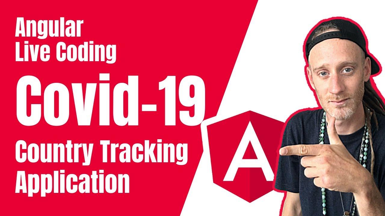 COVID-19 application avec Angular 9, Ionic 5, Openlayer Map & Chart.js