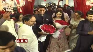 Telangana CM KCR Attends Former MP Ponguleti Srinivas Reddy Son Engagement