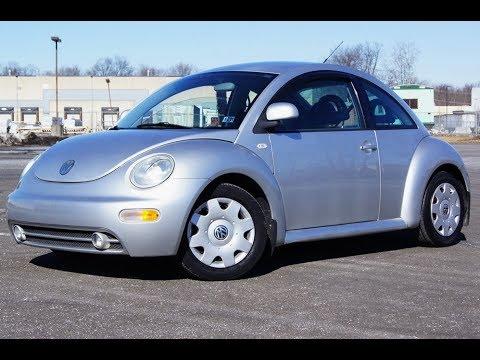 2000 VW beetle GLX TDI 5-speed manual Silver Metallic
