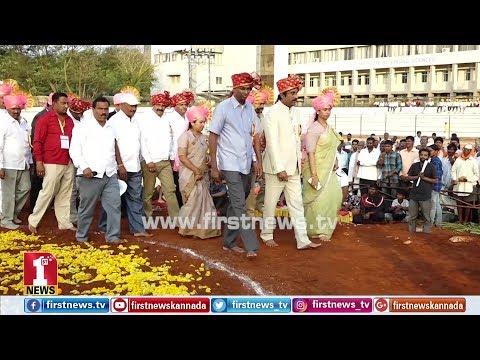 ಅಖಾಡಕ್ಕಿಳಿದ ಸತೀಶ್ ಜಾರಕಿಹೊಳಿ, ಲಕ್ಷ್ಮೀ ಹೆಬ್ಬಾಳ್ಕರ್..! |  Belagavi International Kusthi championship