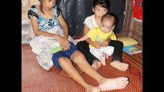 """Nghịch cảnh của người mẹ gần như bại liệt đặt tên 2 con là """"Hận"""" 😢"""