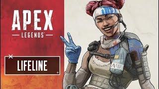 Apex Legends - Solo Top 1 Lifeline PS 4!