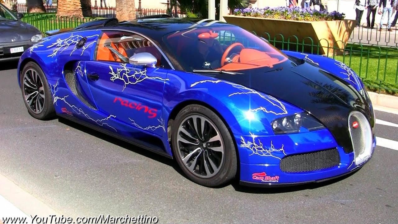 chrome blue bugatti veyron! - youtube
