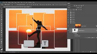 How to Use Collage 12 Pieces Action for Photoshop
