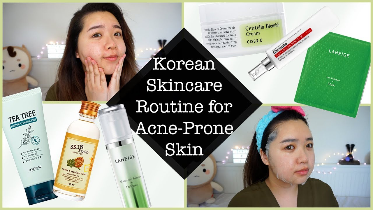 Korean Skincare Routine for Acne Prone Skin   LANEIGE