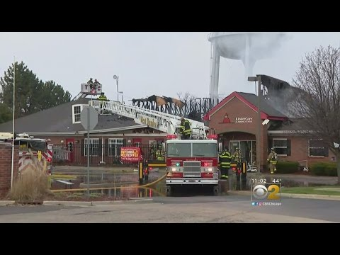 No Injuries In Fire At South Elgin Daycare Center