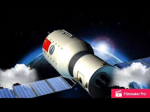 China's runaway space station falling to Earth | Tiangong-1