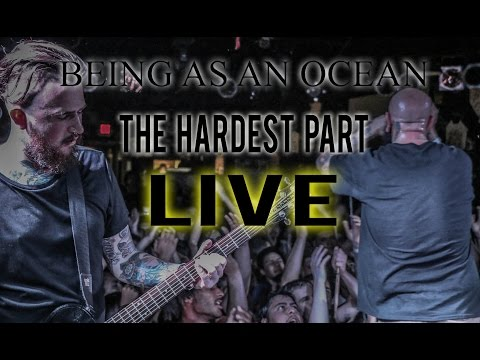 Being As An Ocean - The Hardest Part (LIVE) at Chain Reaction