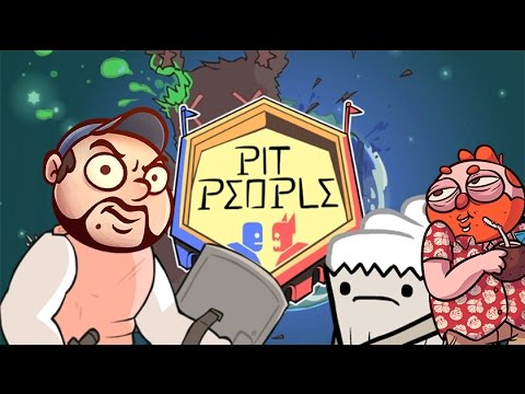 Jesse and TB play Pit People [Part 1] - Baby Reaper and the Troll