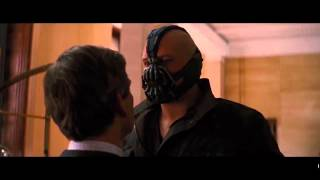 Lake Bell Voices Bane from Dark Knight Rises