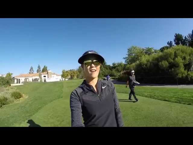 Michelle Wie's Kia Classic Practice Round from Every Angle
