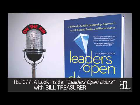Leaders Open Doors by Bill Treasurer TEL 77