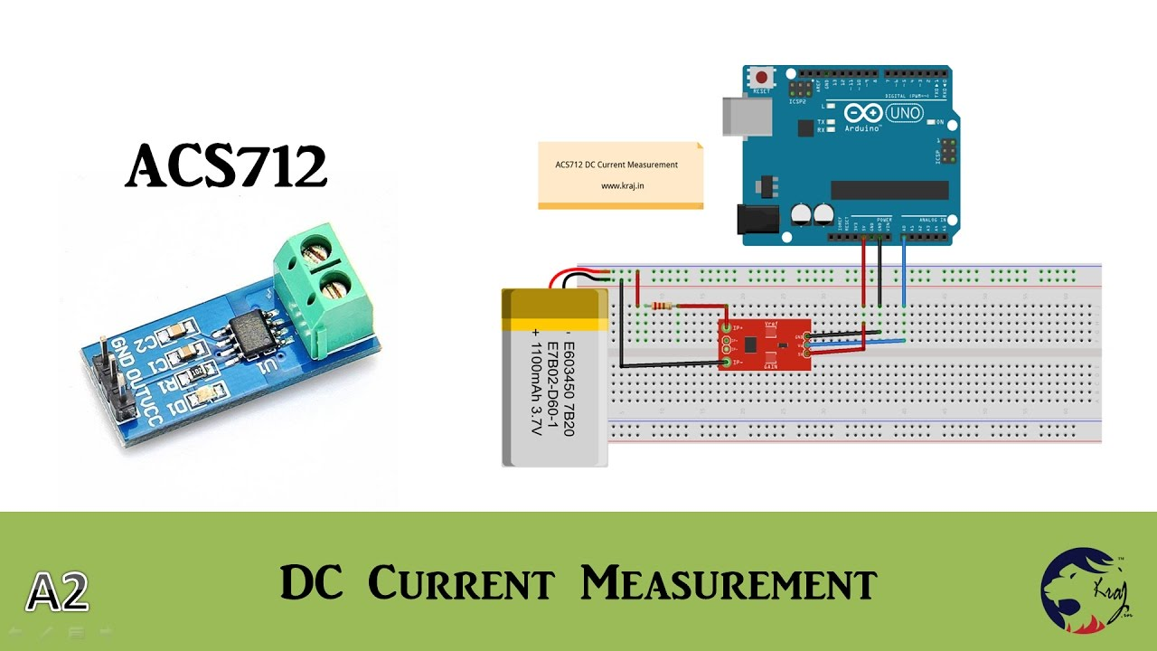 Arduino - ACS712 DC Current Measurement without Error