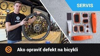 Ako opraviť defekt na bicykli  | SERVIS - MTBIKER.SK