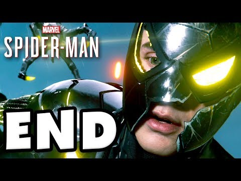 Spider-Man - PS4 Gameplay Walkthrough Part 28 - ENDING Final Doctor Octopus Boss Fight