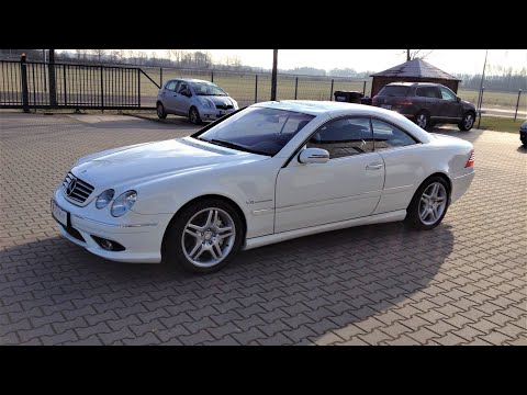 Just Watch !! Mercedes CL55 AMG W215 Review & Testdrive