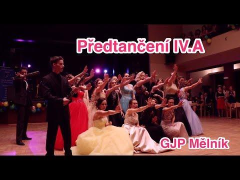 ** Maturitní ples IV.A GJP Mělník 2018 - předtančení **