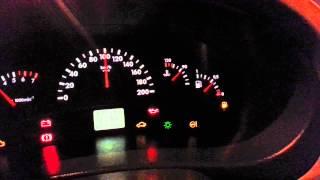 Лада Калина 1119: Уровень топлива. Тест приборной панели (1080p)