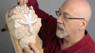 Carving a Traditional Green Man with Master Woodcarver, Chris Pye