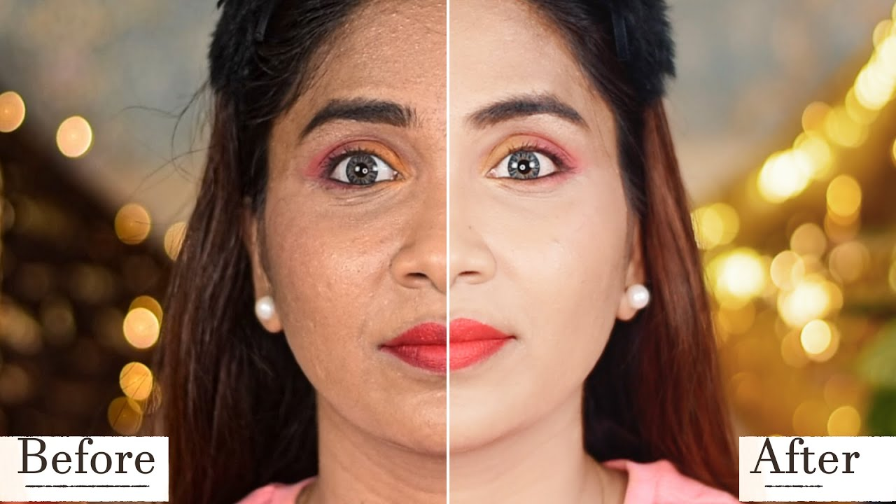 10 Tricks to avoid cakey makeup   How to apply foundation /base  Step by Step makeup for beginners