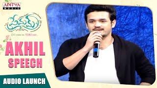 Download Hindi Video Songs - Akhil Speech At Premam AudioLaunch || NagaChaitanya, SruthiHassan || GopiSunder, RajeshMurugesan