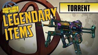BORDERLANDS the Pre-Sequel - *Torrent* Legendary Item Guide