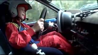 Kalle Rovanperä - First Year Of Rally Driving At Age Of 8