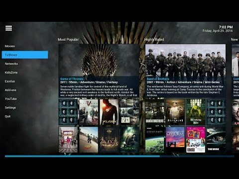 Windows10 Kodi.