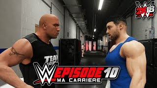 WWE 2k18 MA CARRIERE #10 - J'AI BESOIN D'AIDE