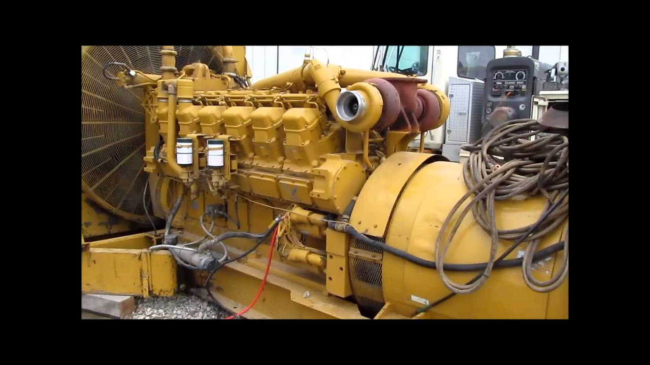 Caterpillar SR4B generator with Caterpillar 3512 diesel engine | sold at  auction April 10, 2014