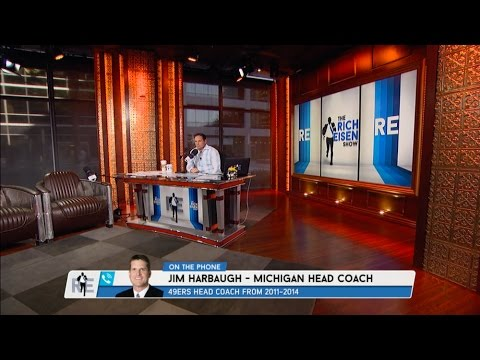 Head Coach Michigan Football Jim Harbaugh Dials in to The RE Show - 3/28/17