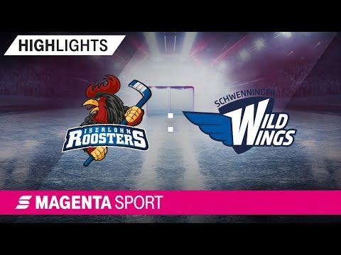 Iserlohn Roosters - Schwenninger Wild Wings | 3. Spieltag, 19/20 | MAGENTA SPORT