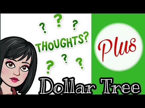 DOLLAR TREE PLUS | NEW AT DOLLAR TREE