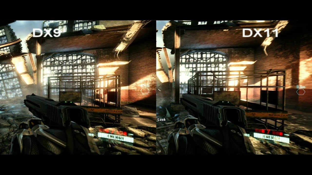 how to run crysis in dx9