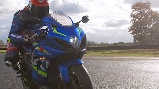 Taylor Mackenzie gets his first ride on the all-new GSX-R1000 as Ha...