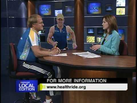 Pennsylvania Health Ride battling Childhood Obesity- Andy and Roy Baldwin