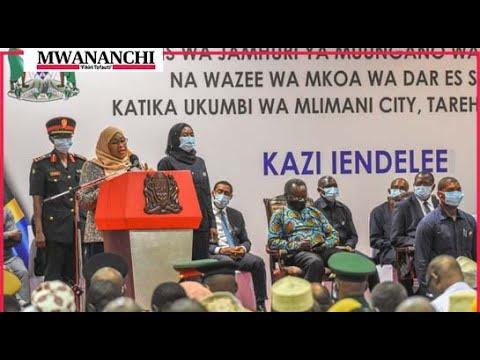 Mabadiliko yanakuja, Rais Samia awaambia wazee Dar