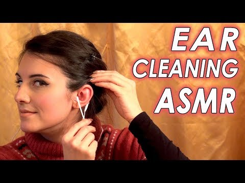 ASMR Ear Cleaning | Real Person