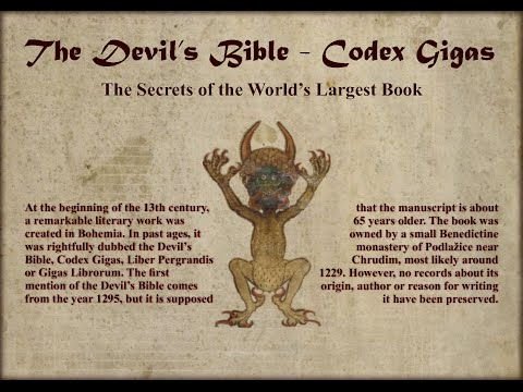Codex Gigas | The Devil's Bible | Unknown Mysteries | Unsolved Myth's