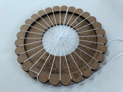 How to warp the Prima Fiber Arts circular loom