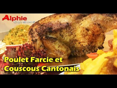 poulet-farcie-et-couscous-cantonais---spécial-noël