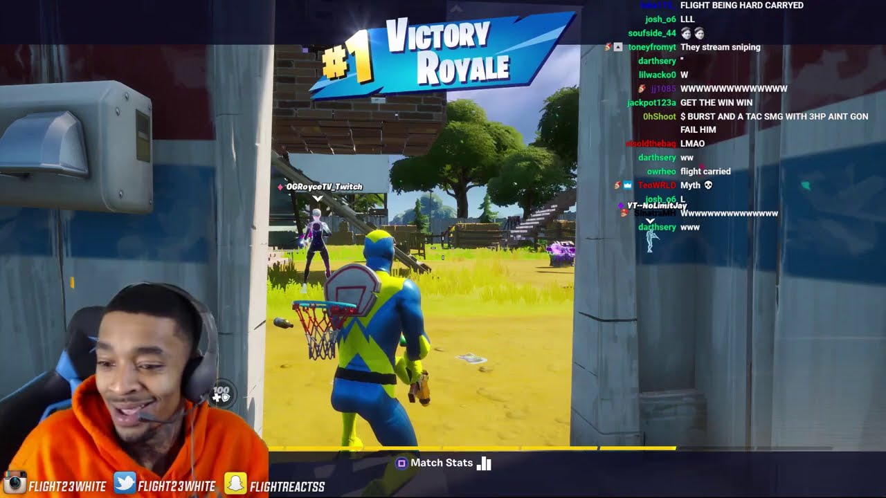 Download FlightReacts CLUTCHED UP & CARRIED TEAM WITH ONLY 3HP IN FORTNITE!