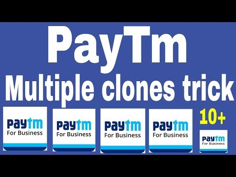 How to clone multiple paytm apps | paytm Multiple cloning trick | without  any error 100% works