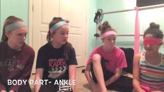 guess that body part challenge   flexible and fabulous 2 ft katherine and lauren