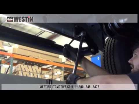 "Installation of Platinum 4"" Wheel-to-Wheel Steps on Ford Superduty Crew Cab"